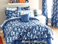 BOYS Modern BLUE CAMO Camouflage Army Hunting Cabin ...