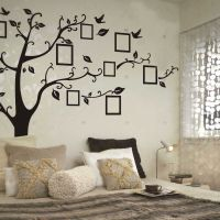 New Photo Frame Family Tree Removable Wall Stickers Vinyl