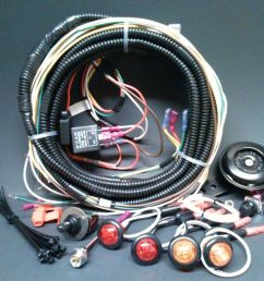 turn commander signal horn kit for sxs atv street legal complete harness ebay [ 1000 x 864 Pixel ]