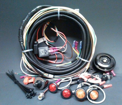 small resolution of  turn commander signal horn kit for sxs atv street legal complete harness ebay