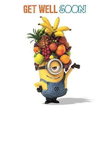 DESPICABLE ME 2 GET WELL SOON CARD NEW GIFT MINION eBay