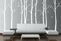 Birch Tree Wall Decal Forest Art Vinyl Sticker Removable ...
