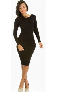 BODY CON FITTED DRESS | eBay