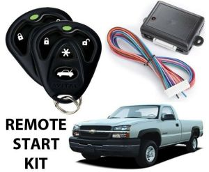 2003 2004 2005 2006 2007 CHEVY SILVERADO REMOTE START KIT