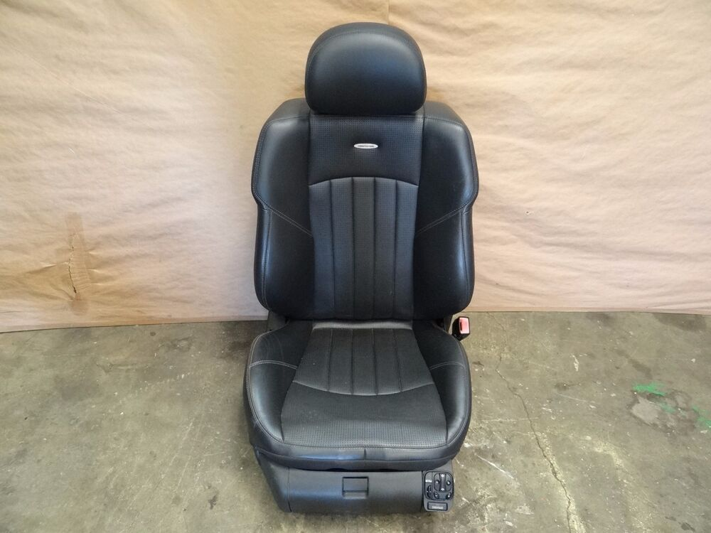 car interior parts diagram electric water 2006 mercedes-benz e55 amg w211 front right passenger dynamic seat complete | ebay