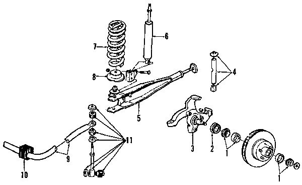 Ford E350 Front Suspension Parts Diagram. Ford. Auto