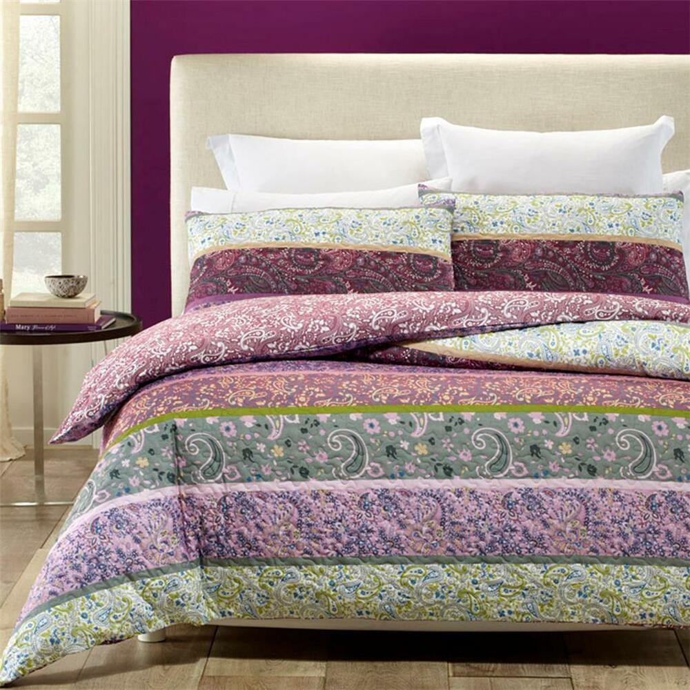 Phase 2 Avonleigh Purple Lilac Quilted Quilt Doona Cover