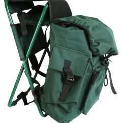 Fishing Chair Backpack Indoor Hanging Swing With Stand Hunting / Pack Stool, Seat Bag, Stool | Ebay