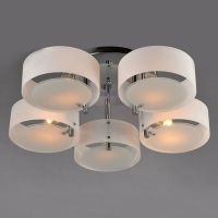 Contemporary Acrylic Chandelier Ceiling Lamp Pendant ...