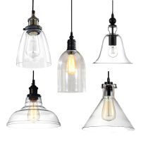 Industrial Modern DIY Ceiling Lamp Light Glass Pendant ...