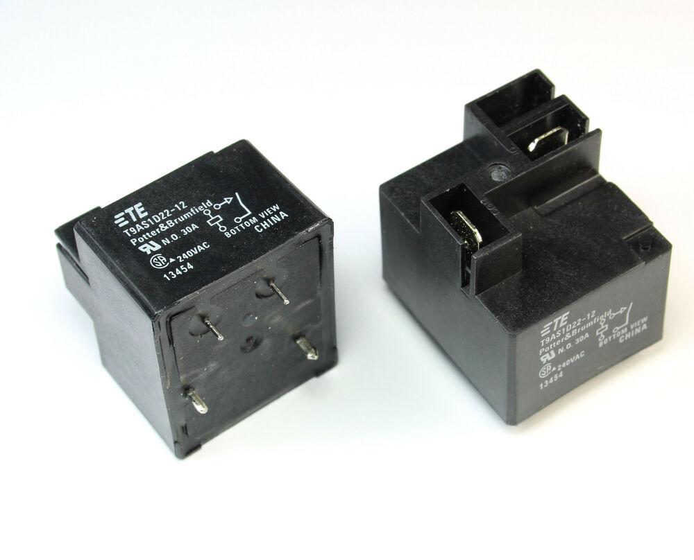 Potter Amp Brumfield T9as1d22 12 30a Relay 240vac 30 Amps