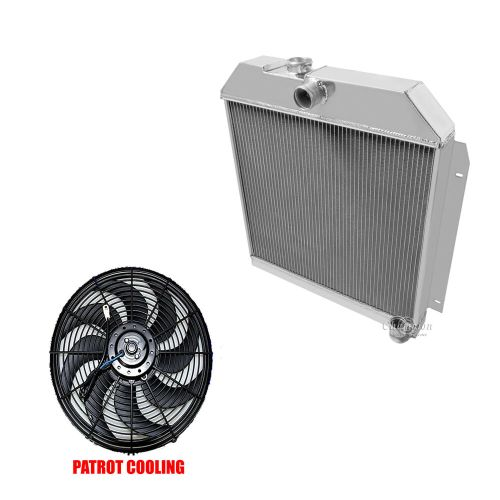 small resolution of details about 1951 1952 plymouth cranbrook belvedere concord 3 row champion radiator 16 fan