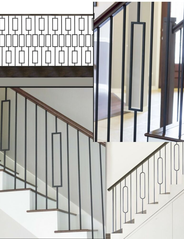 Iron Balusters Iron Spindles Iron Stair Parts Craftsman | Black Metal Spindles For Staircase