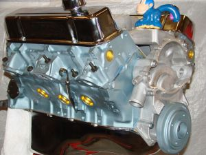 461 Pontiac High Perf balanced crate engine with cast