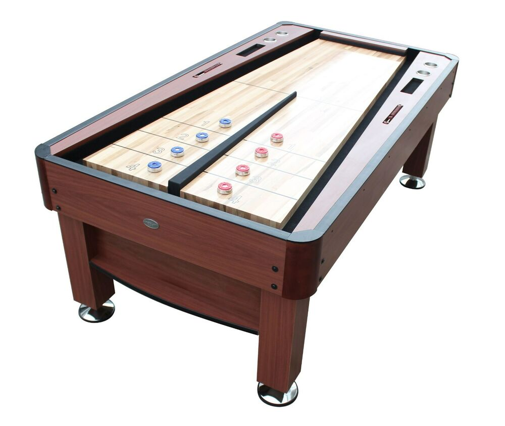 """""""THE REBOUND"""" 7 foot SHUFFLEBOARD TABLE in CHERRY by"""