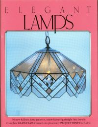 Elegant Lamps Stained Glass Pattern Book, Lights, Shades ...