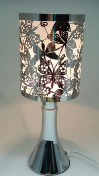 Fragrance ** Stainless Steel Table Touch Lamp NButterfly ...
