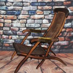 Folding Chair Uk Bulk Chairs Victorian Bergere Steamer Deck - Free Delivery [pl1839] | Ebay