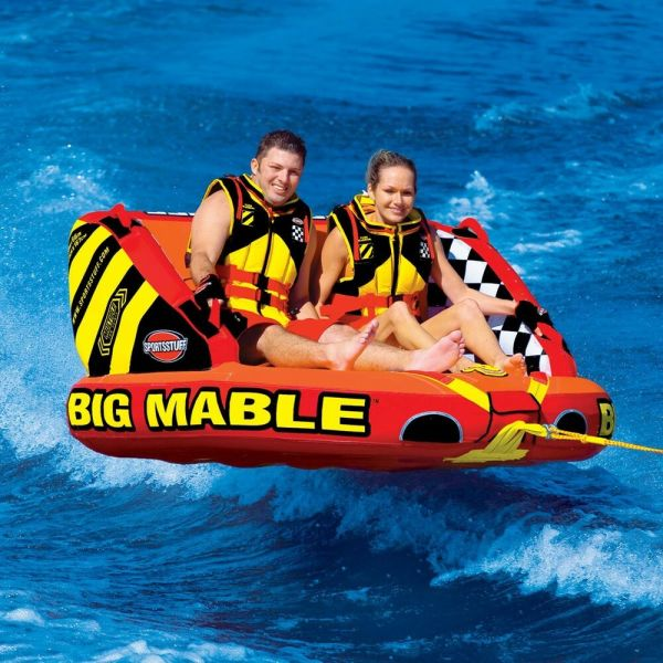 Sportsstuff Big Mable Inflatable Water 2 Rider Tube Boat