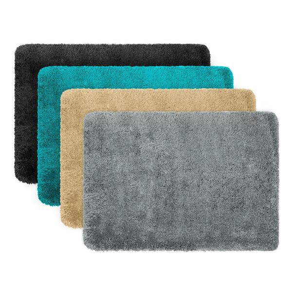 Home Circle Memory Foam Bath Mat Rug 17 X 24 -slip Backing Super Soft