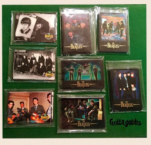 Beatles Collection Trading Cards 1993-1996 Apple Corp
