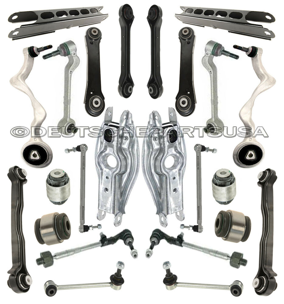 FRONT + REAR CONTROL ARM ARMS BALL JOINTS for BMW E90 E91