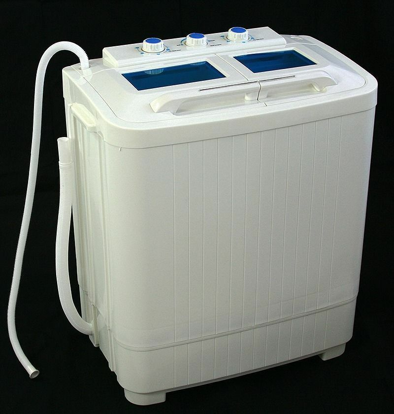 Electric Portable Mini Small Compact Washing Machine