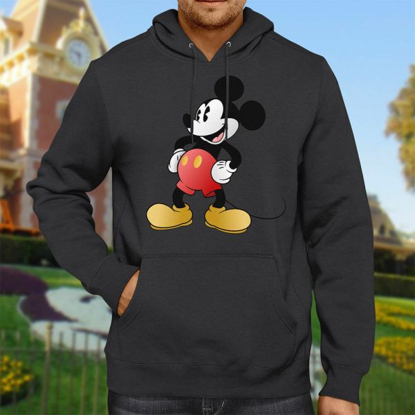 Classic Mickey Mouse Retro Disney Vintage Hooded Sweater
