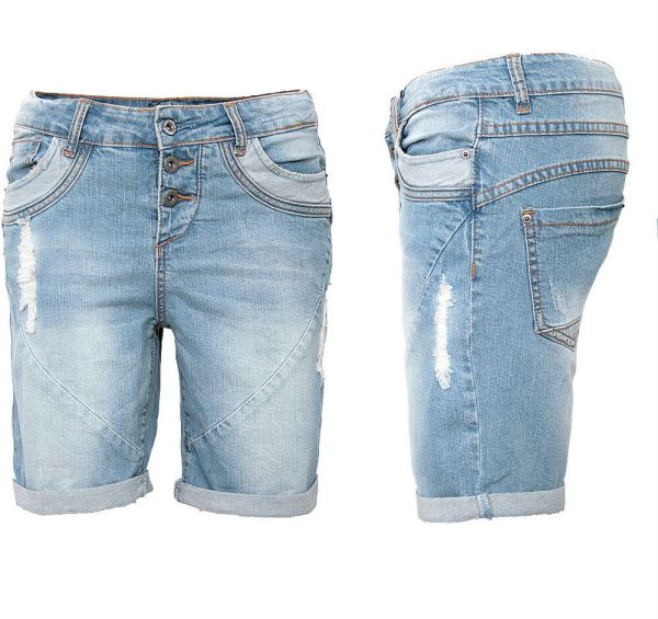 Fresh Women' Jeans Shorts Bermuda Boyfriend