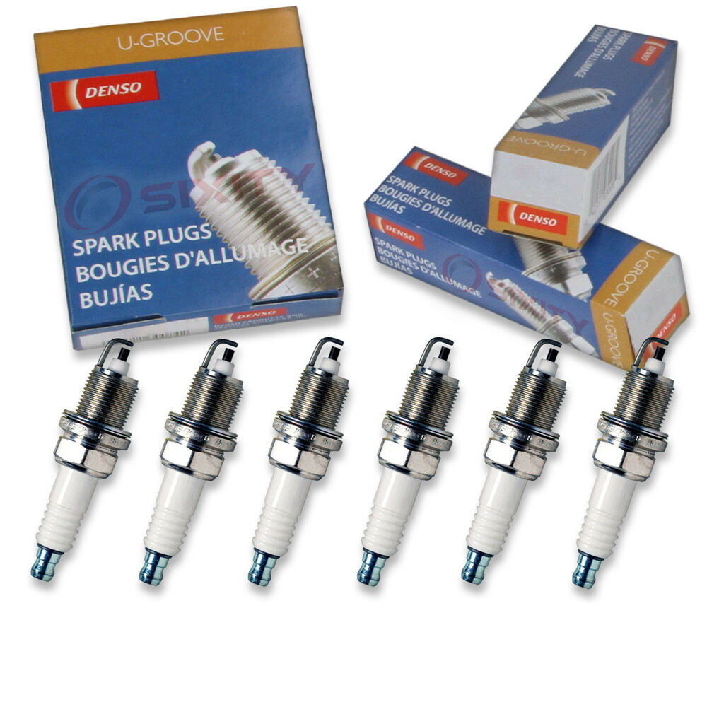 hight resolution of details about 6 pc denso standard u groove spark plugs for chrysler 300m 3 5l v6 1999 2004 gf