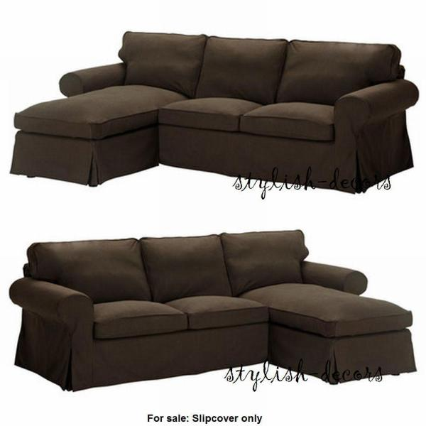 Ikea Ektorp Cover Loveseat With Chaise Lounge