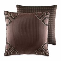 Croscill Sancerre One Euro Pillow Sham in Chocolate New ...