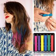6 colors temporary diy super hair