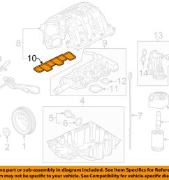 details about ford oem engine intake manifold gasket at4z 9h486 a factory sold individually [ 1000 x 798 Pixel ]