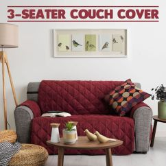 100 Cotton Sofas Dfs Sofa Poor Quality Couch Cover 3 Seater Removable Fabric Slip Throw ...