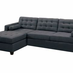 Black Microfiber Sofa Set How To Make A Slipcover For Without Sewing Modern Charcoal Grey Fabric Sectional Couch ...