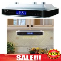 Radio Under Cabinet Counter Music FM Clock Bluetooth ...