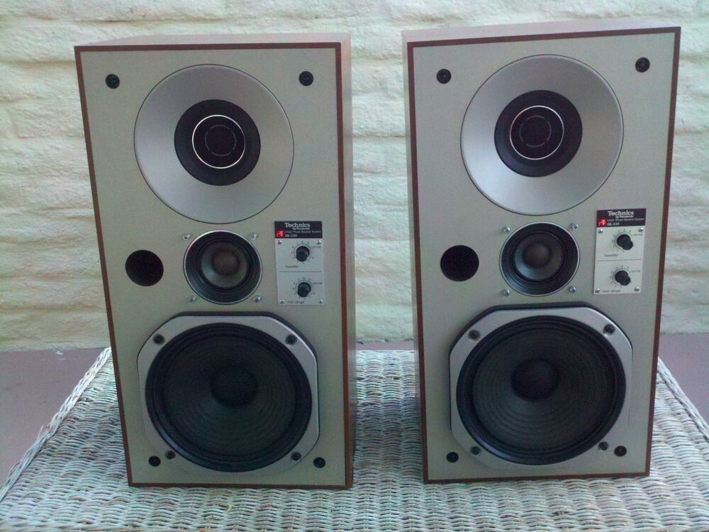 Technics SBX30 _ linear phase speakers VINTAGE AUDIOPHILE