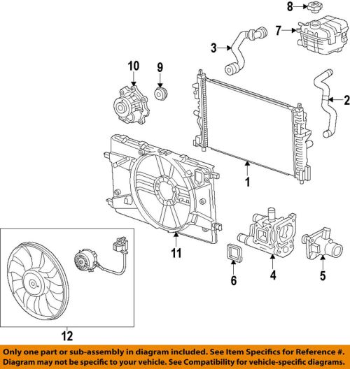 small resolution of details about chevrolet gm oem 14 15 cruze 1 8l l4 engine coolant thermostat 55597008
