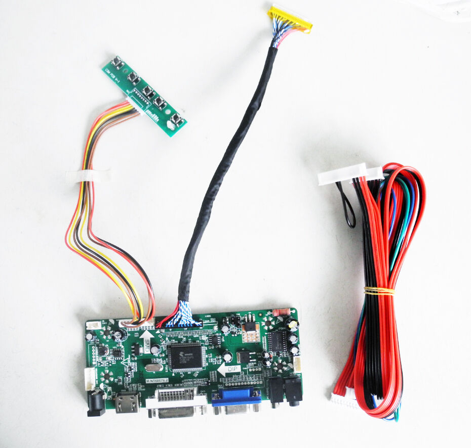 hight resolution of hdmi dvi vga lcd controller board converter kit for 1920x1200 wiring