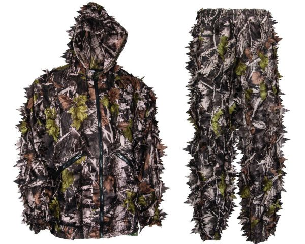 North Mountain Gear Camouflage Leafy Ghillie Hunting Suit ...