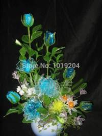 Rare 100 Pcs Magical Natural Crystal Flower Seeds Colorful ...