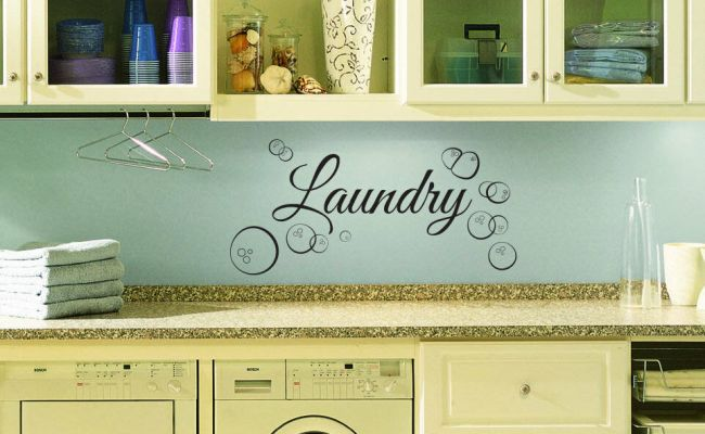 Laundry Room Wall Decal Custom Wall Decal For Laundry