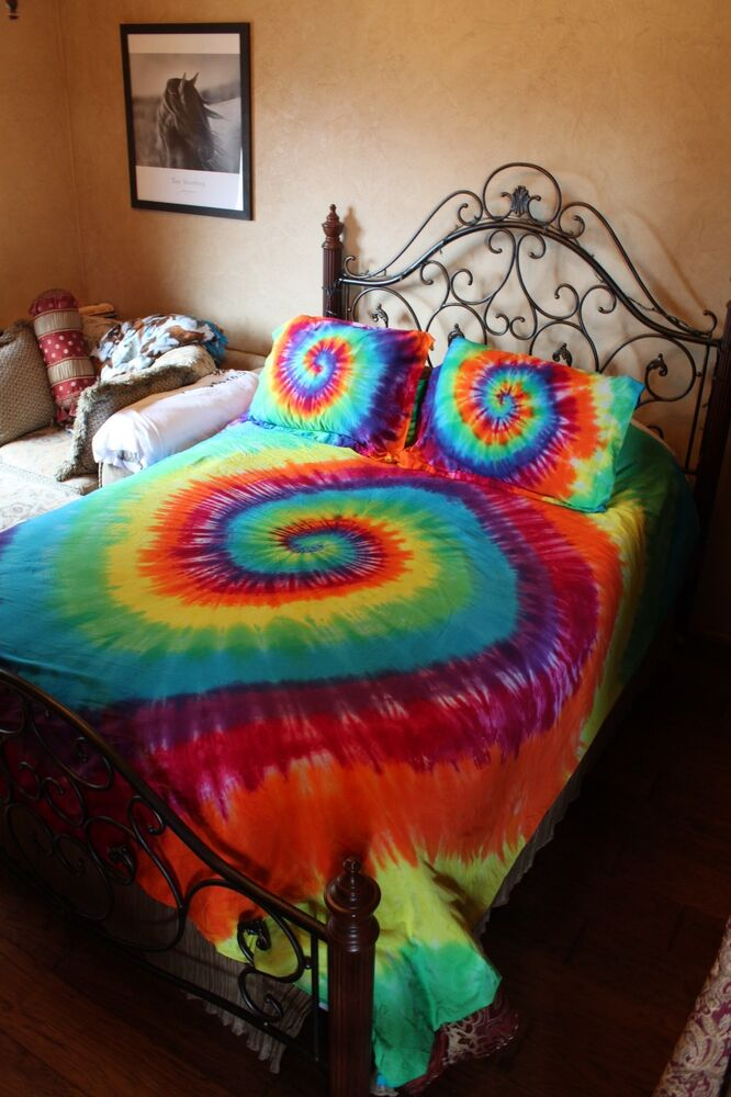 Tie Dye Duvet Cover Set Twin Full Queen And King Cal