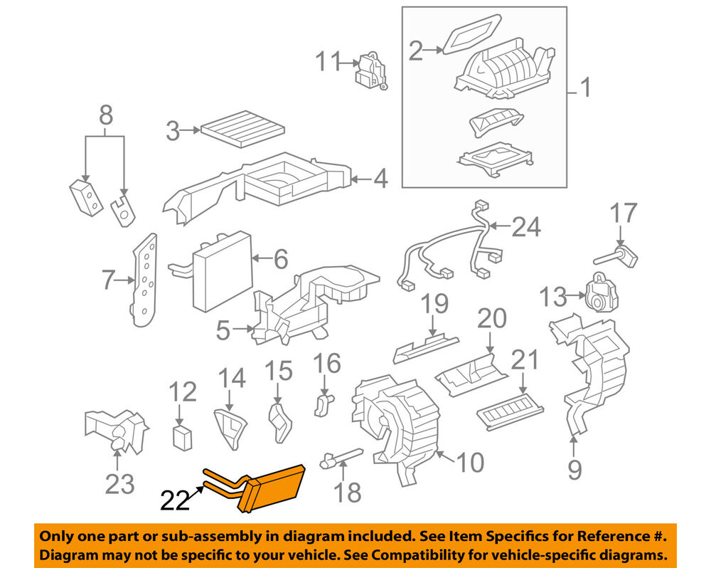 hight resolution of details about gm oem hvac heater core 25952917