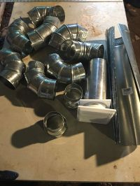 Air-Duct Elbow Pipe Dryer Venting Fitting Sheet Metal ...
