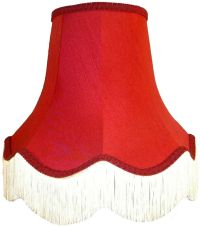 Burgundy Red Fabric Lamp shades Ceiling Wall Lights Table ...