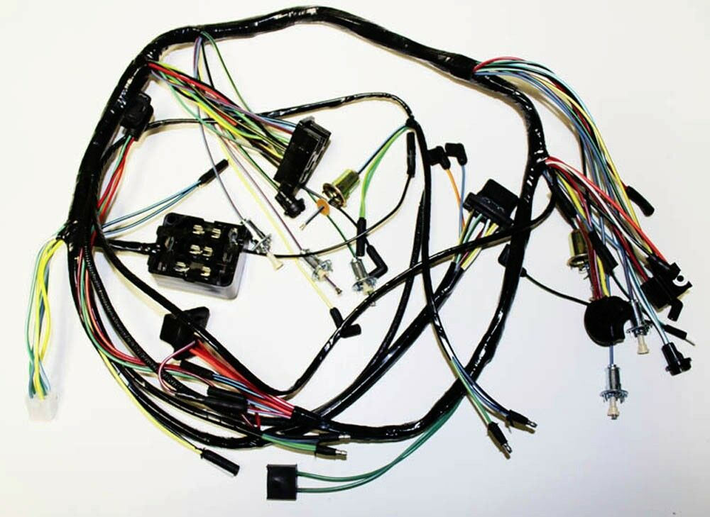 1965 ford mustang wiring