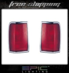 details about fits 90 97 lincoln town car tail light lamp pair left and right set  [ 1000 x 1000 Pixel ]