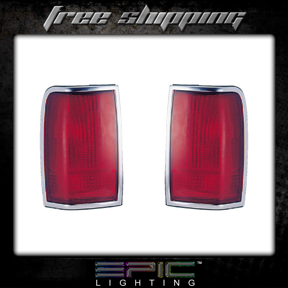hight resolution of details about fits 90 97 lincoln town car tail light lamp pair left and right set